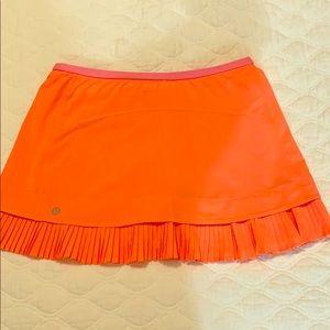 Lululemon Pink Tennis Skirt